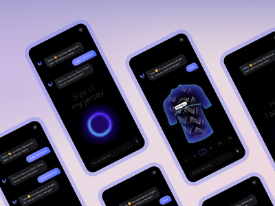 Meet Chatbot Elwa powered by ui42! customer experience customer support online shopping web branding voice assistant ecommerce business ecommerce chatbot graphic ux ui design