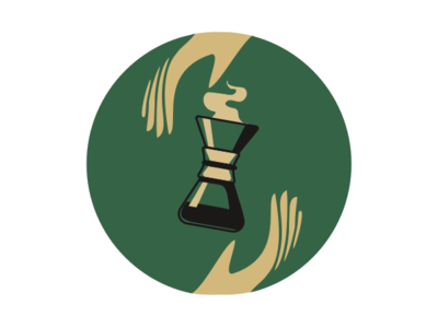 Chemex illustration hand green hario coffee logo chemex