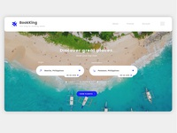 Simple Booking Landing Page