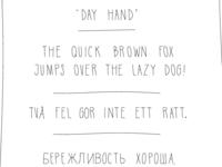 Day Hand