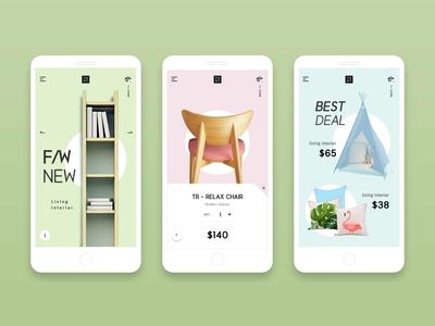 家居类app商城节选