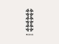"""Logo for """"Medus"""""""