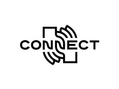 Connect Logotype logotype logo fingers touch connections helping humanity love relations race community hands connect