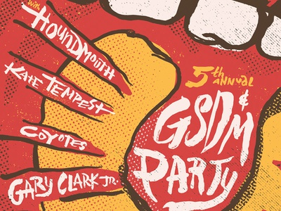 GSD&M SXSW Party Poster