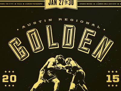 Golden Gloves Poster
