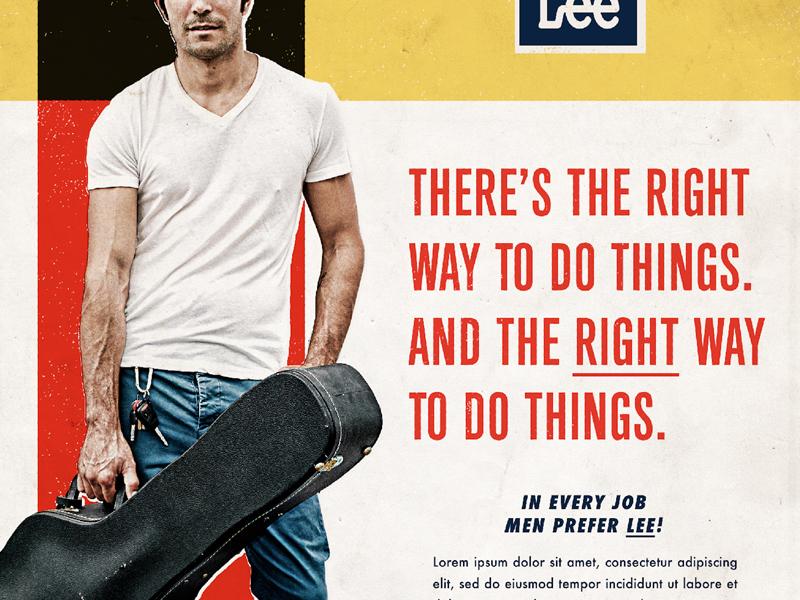Lee jeans brand exploration