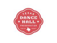 Texas Dance Hall Preservation Logo