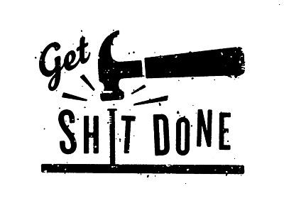 A Stupid Thing productivity bang tool hard nail get done shit hammer work