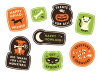Spooky Pet Stickers