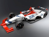 Thunderbird Indy Car Wrap