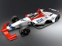 Thunderbird Indy Car Wrap