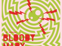 Bloody Mary Morning Poster
