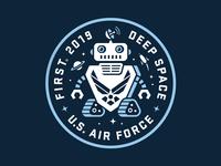 STEM USAF badge for kids