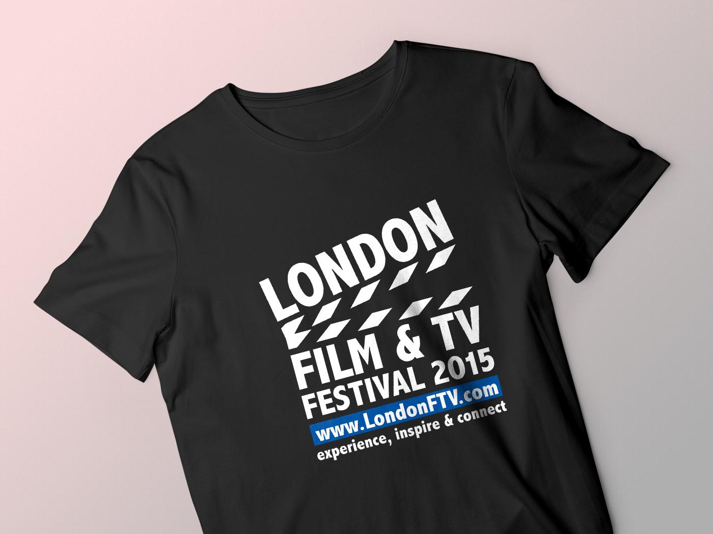 London Film Tv Festival 2015 T Shirt By Ayesha Akter Dribbble