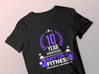 Anytime Fitness T Shirt