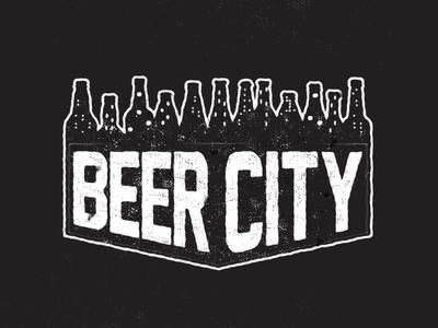 It's beer city over here.