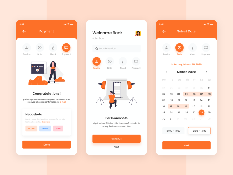 Photography App Ui Kit photographer app photography app product design uxresearch uiuxdesigner uiuxdesign uiux photography app concept app design ux design ui design interface design ui