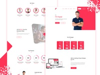 Self Portfolio landing page Design