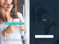 2 Splash Screen - Mobile app concept