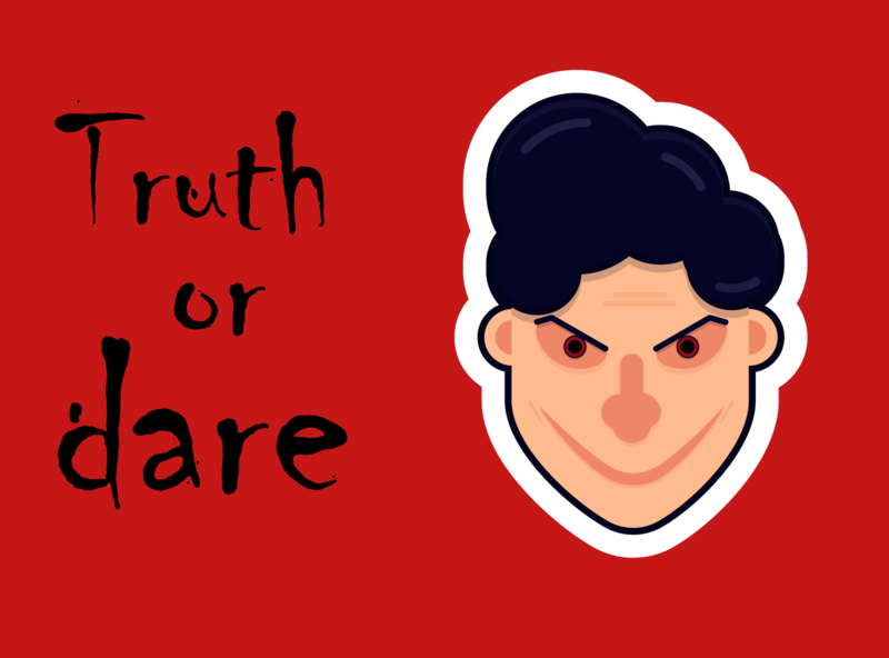 Truth Or Dare [Sticker] design digital character creative art truth or dare sketch branding animation animated vector ui app icon logo illustrator illustration sticker design stickermule sticker