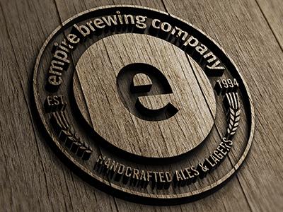 Empire logo wood