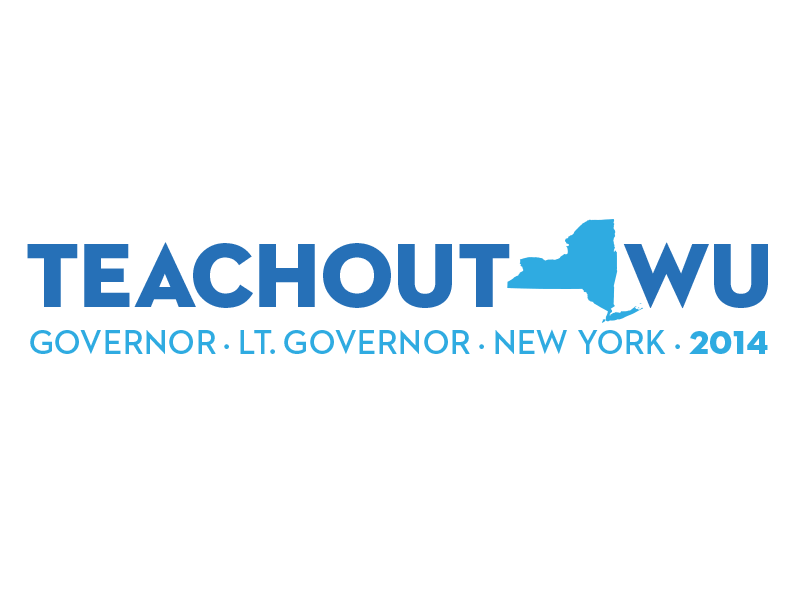 Teachout/Wu 2014 politics election campaign governor new york ny