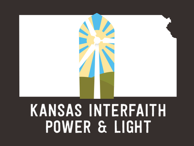 Kansas Interfaith Power & Light environment turbine windmill ecology kansas logo