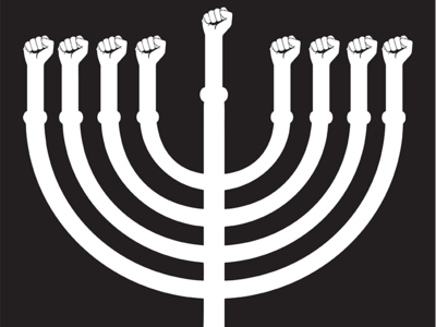 #ChanukahAction Signage