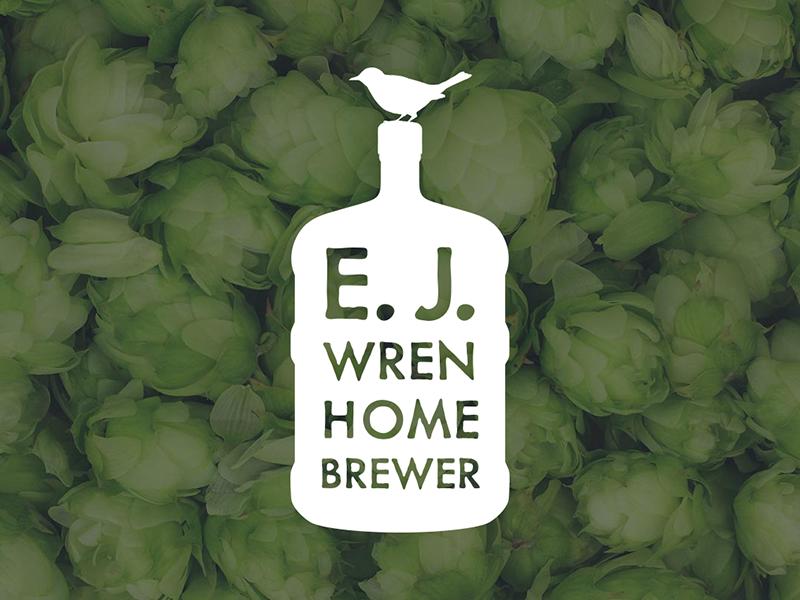 E.J. Wren Homebrewer homebrewing beer homebrew carboy wren bird