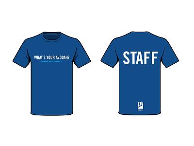 What's your AVODAH tee jews jewish judaism service volunteering tshirt