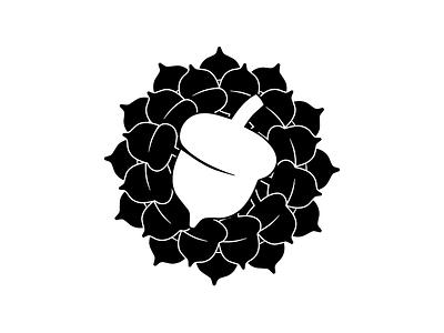 Lineage Lotus acorn flower lotus logo yoga