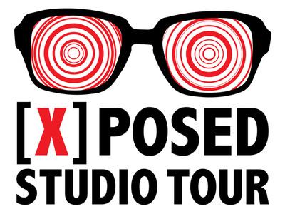 [x]posed Studio Tour Logo logo x-ray agia