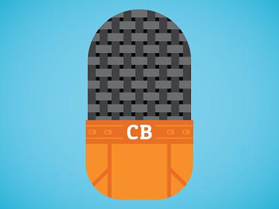 Creative Briefs logo illustration podcast