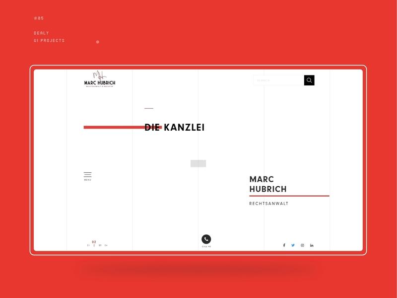 Law Firm Website Design minimalist website design ui design minimal design unique design