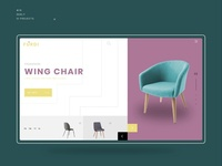 E commerce Furniture UI Design