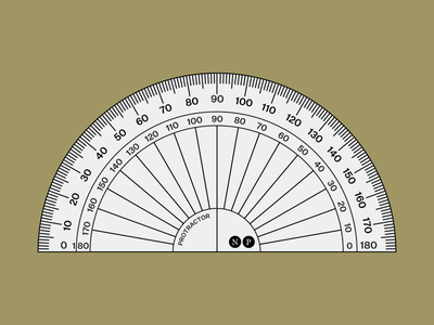 Protractor rulers rules graphicdesign graphic graphic design vector illustration vector design illustration