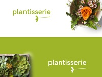 Plantisserie Logo Design