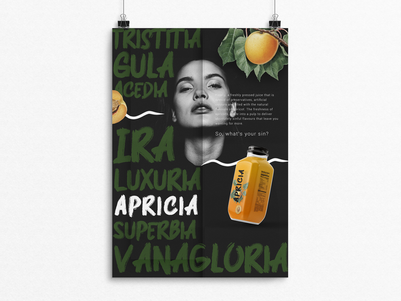 Apricia Poster Design product design product branding product photoshop poster art poster creative  design flyer design flyer branding agency graphic design graphicdesign branding design