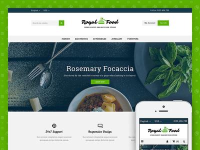 Food and Restaurant StoreTemplate codezeel ecommerce themes food prestashop17 prestashop