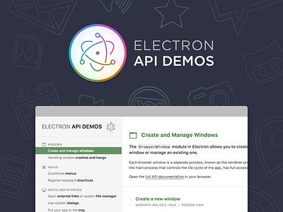 Electron API Demos electronjs