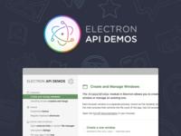 Electron API Demos