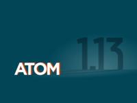 Atom 1.13