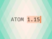 Atom 1.15