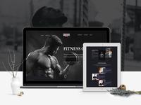 Website Design Gym