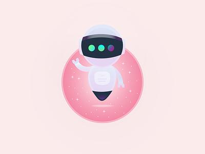 Astro Inspiration inktober inktober 2018 skech star illustration design dribbble gradient flying stars pink astrobot astroboy flat adobe illustrator