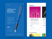 E-commerce product page — daily Inspiration 19