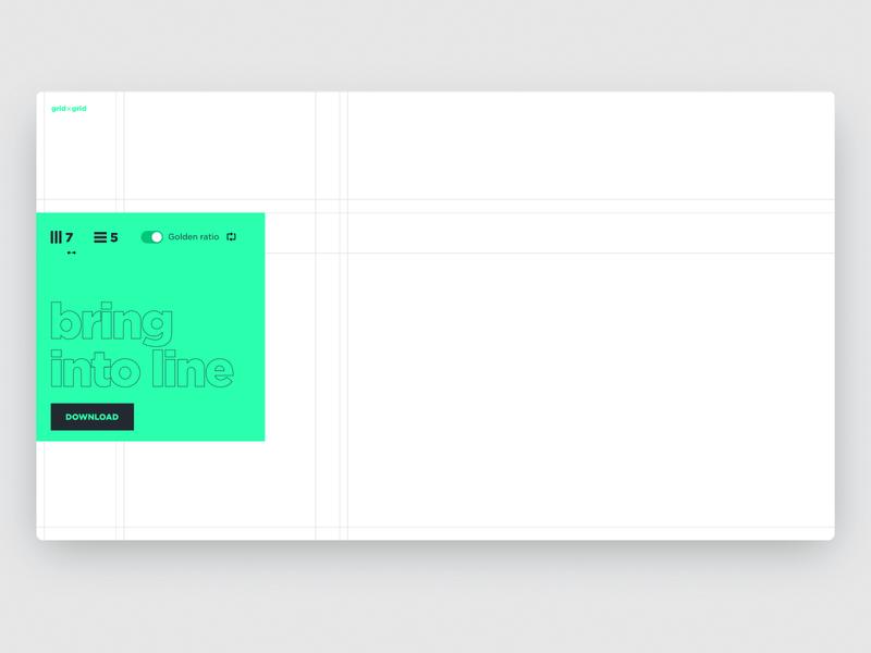 grid×grid — svg & css grids generator interaction ui interaction vector grid layout app grid adobe xd web ui clean minimalistic