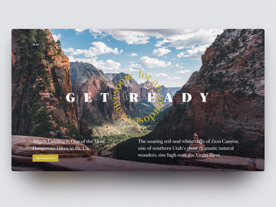 Travel guides — daily Inspiration 40 grid layout grid figma big background images web ui clean daily inspire minimalistic