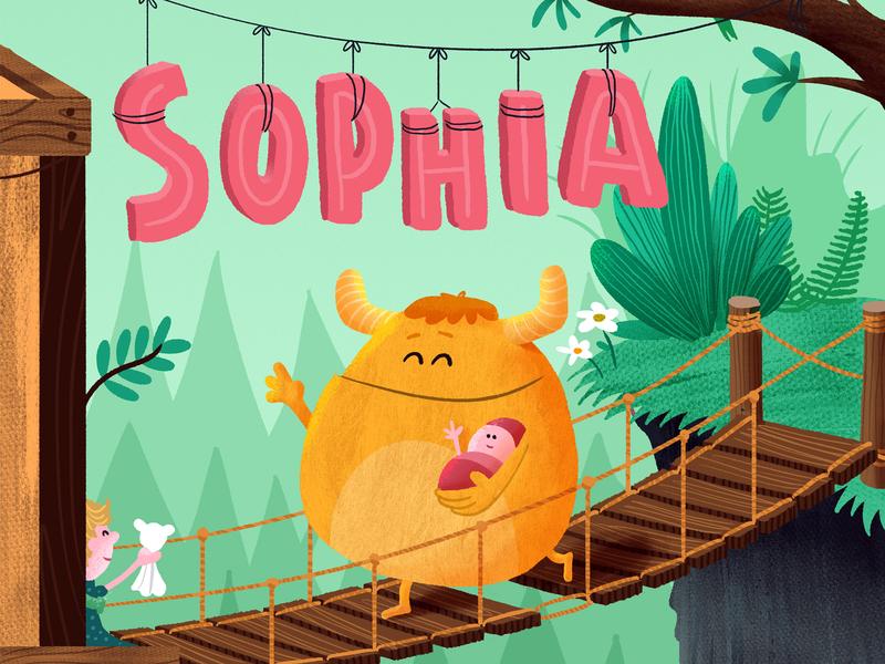 Sophia birth announcement