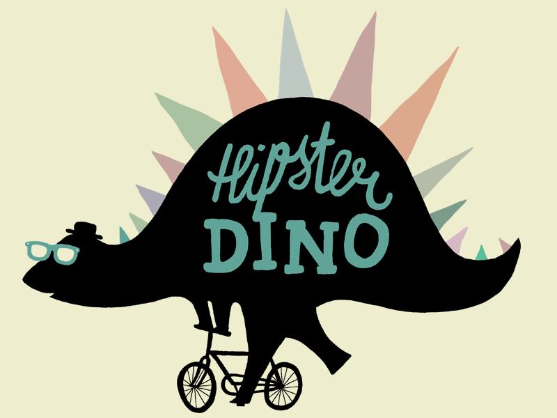 Hipster Dino hipster dino wayfarers bicycle
